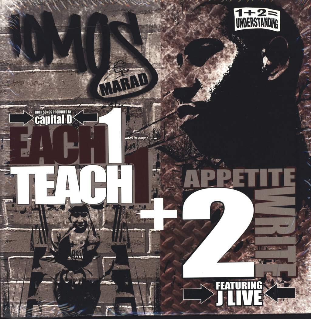 "Iomos Marad: Each 1 Teach 1 / Appetite 2 Write, 12"" Maxi Single (Vinyl)"