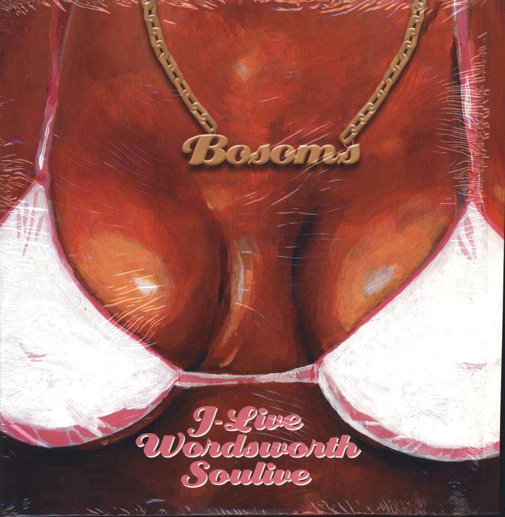 "J-Live: Bosoms, 12"" Maxi Single (Vinyl)"