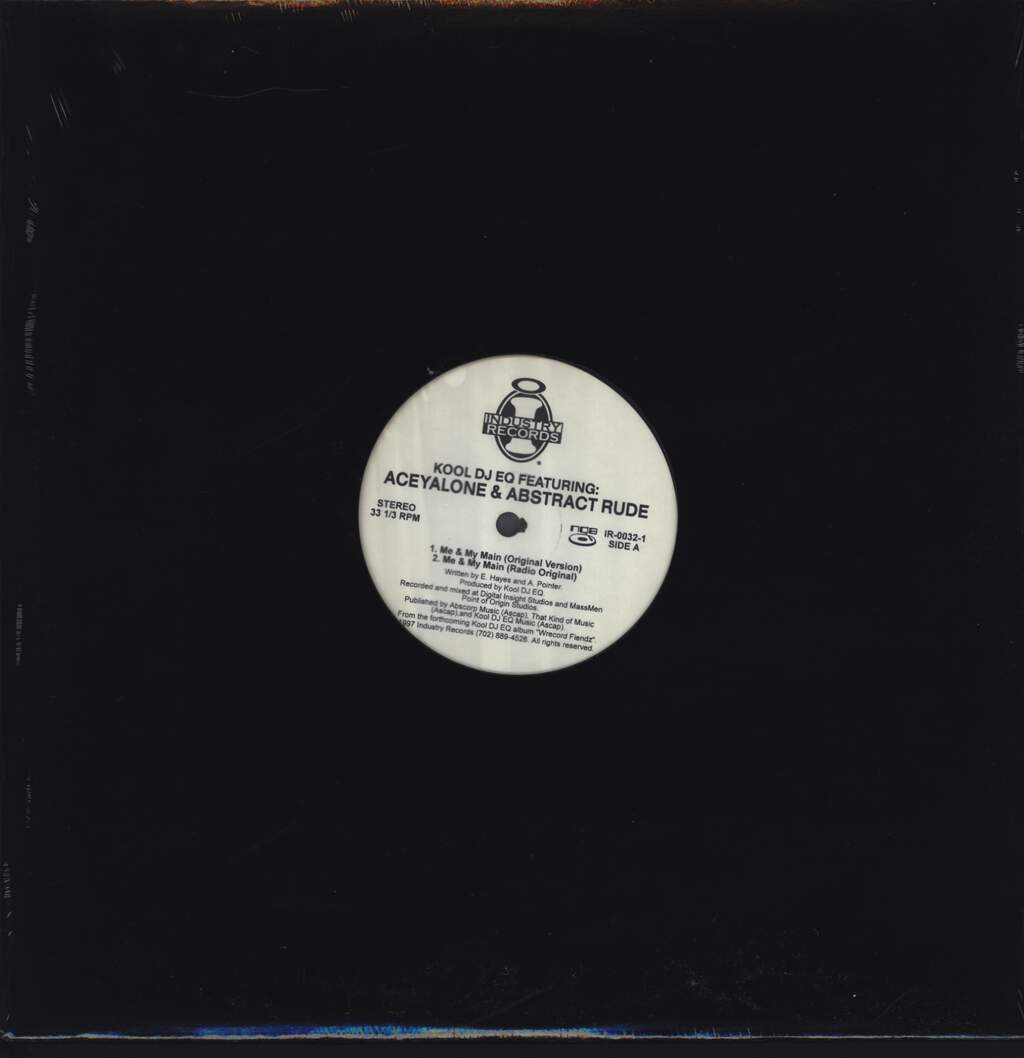 "Kool DJ E.Q.: Me & My Main, 12"" Maxi Single (Vinyl)"