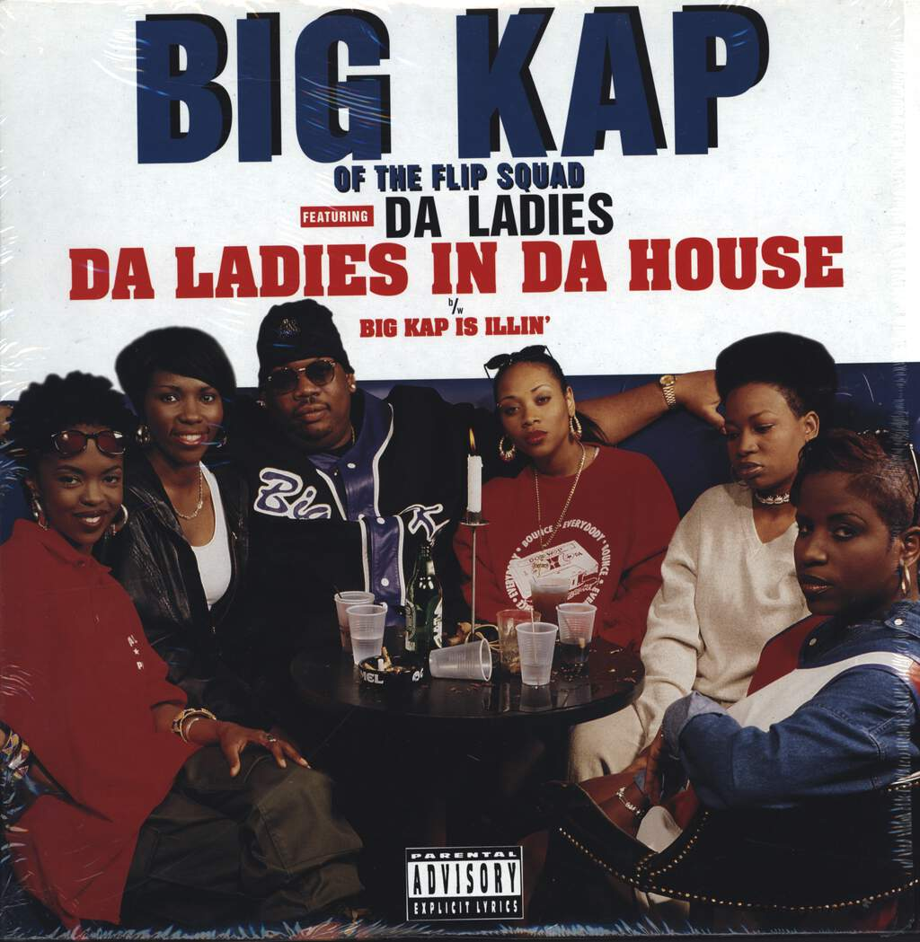 "Big Kap: Da Ladies In The House, 12"" Maxi Single (Vinyl)"