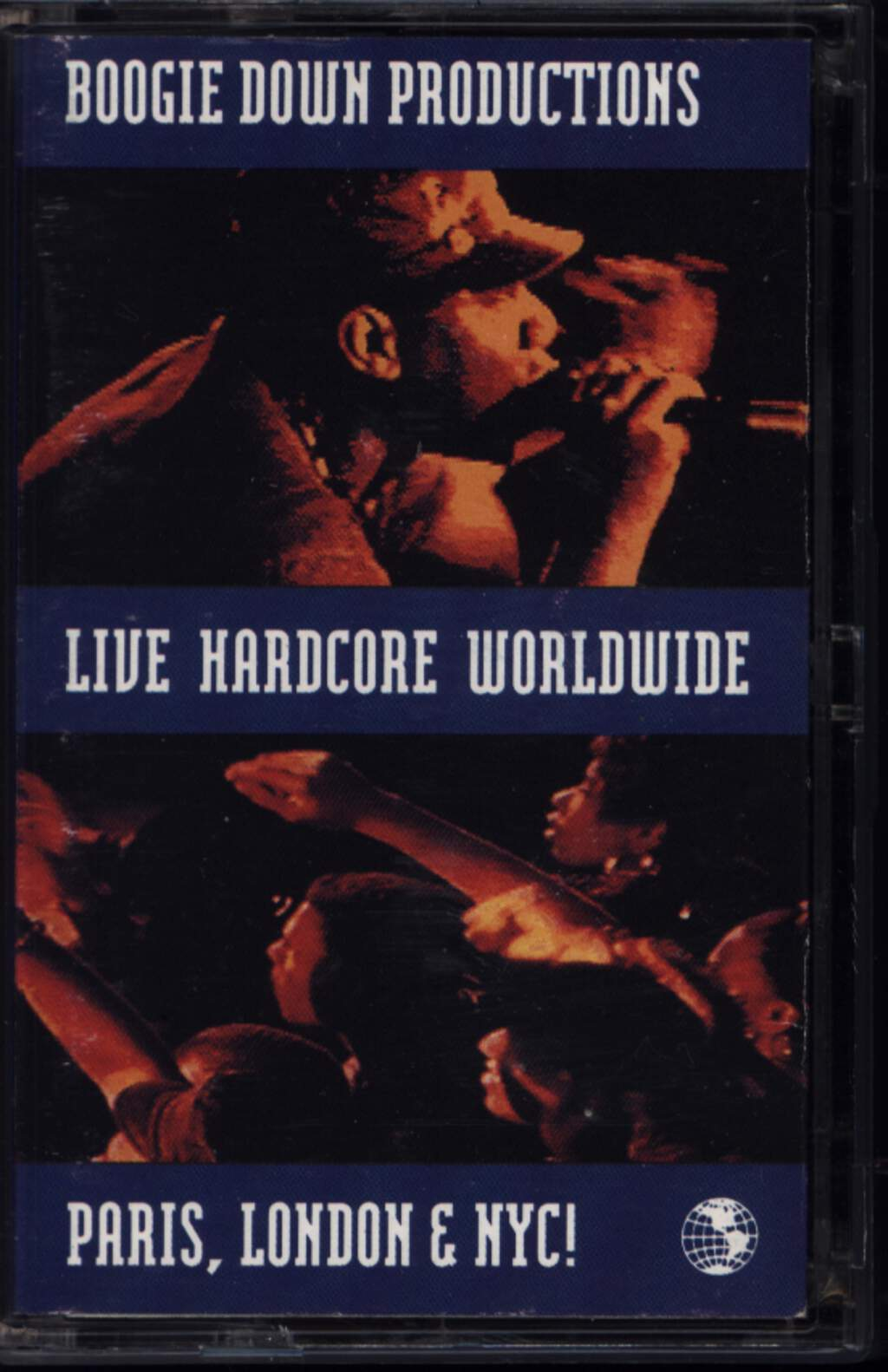 Boogie Down Productions: Live Hardcore Worldwide, Compact Cassette