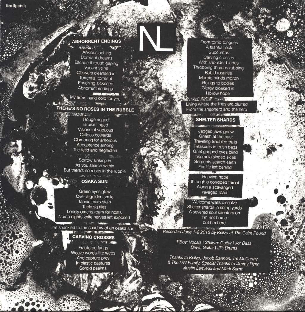 "New Lows: Abhorrent Endings, 12"" Maxi Single (Vinyl)"