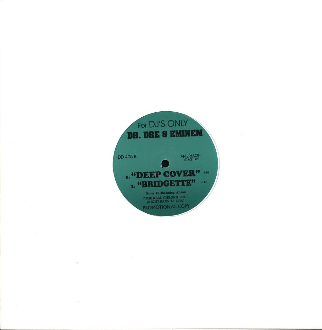 "Dr Dre: The Throne Is Mine, Stay In Your Place / Deep Cover, Bridgette, 12"" Maxi Single (Vinyl)"