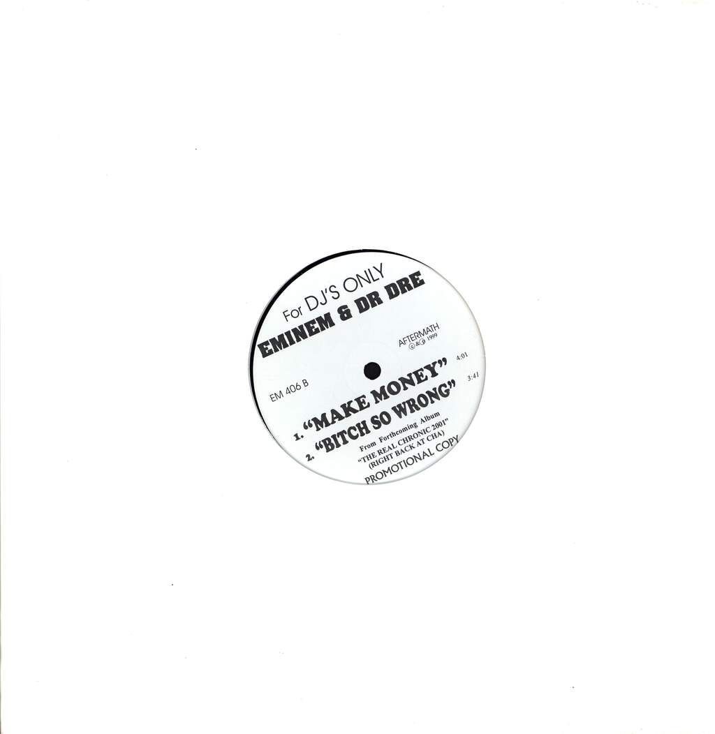 "Dr Dre: Forgot About Dre / What's The Difference / Make Money / Bitch So Wrong, 12"" Maxi Single (Vinyl)"