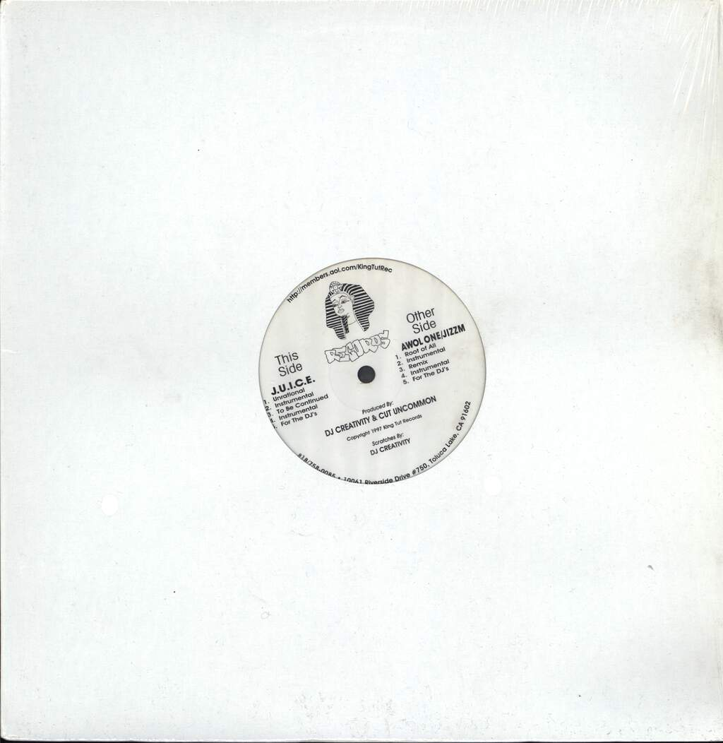 "J.U.I.C.E.: Unrational / Root Of All, 12"" Maxi Single (Vinyl)"