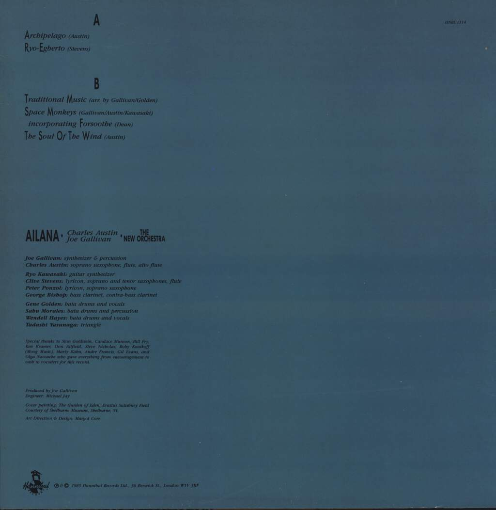 Ailana: The New Orchestra, LP (Vinyl)