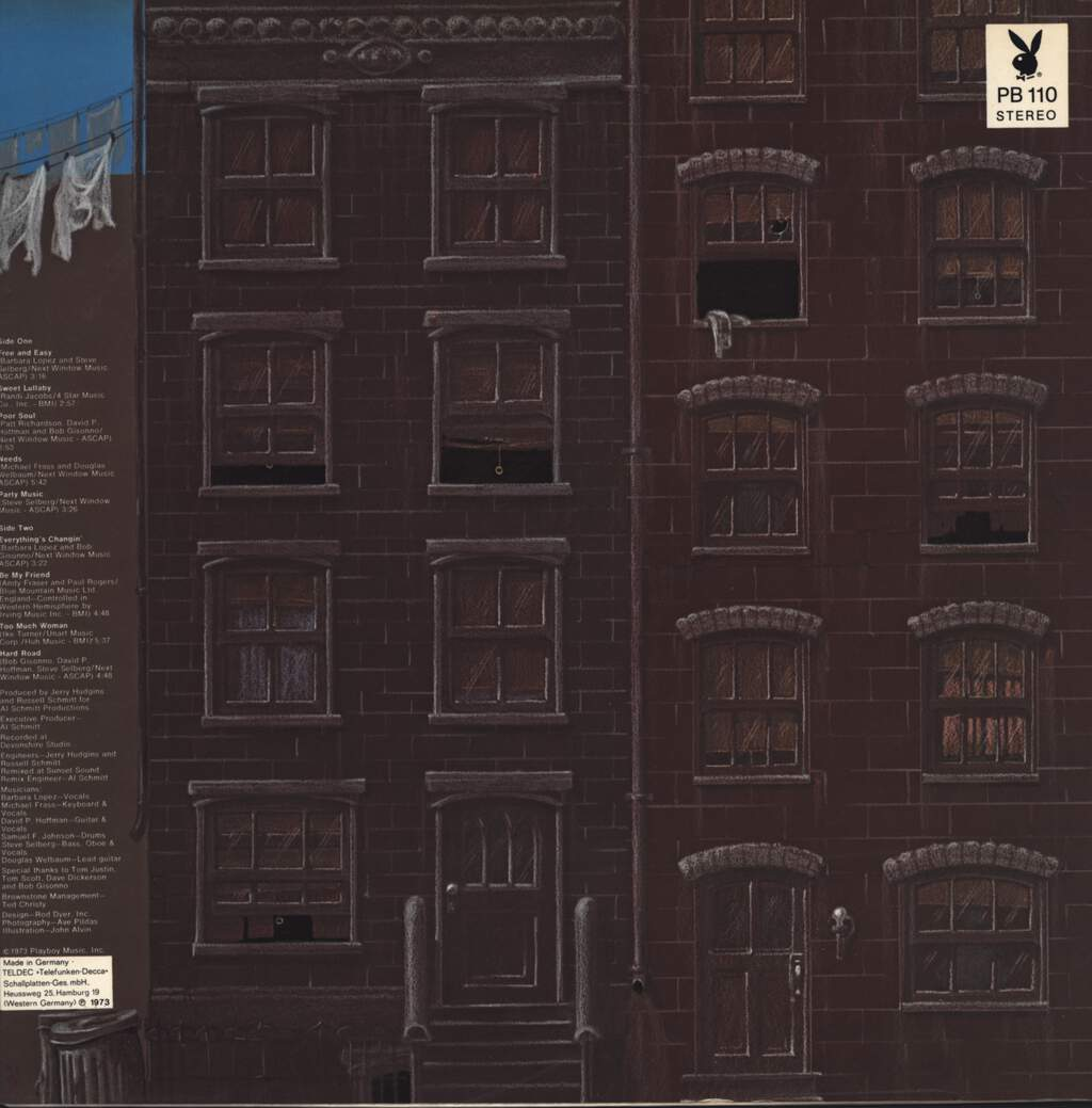 Brownstone: Brownstone, LP (Vinyl)
