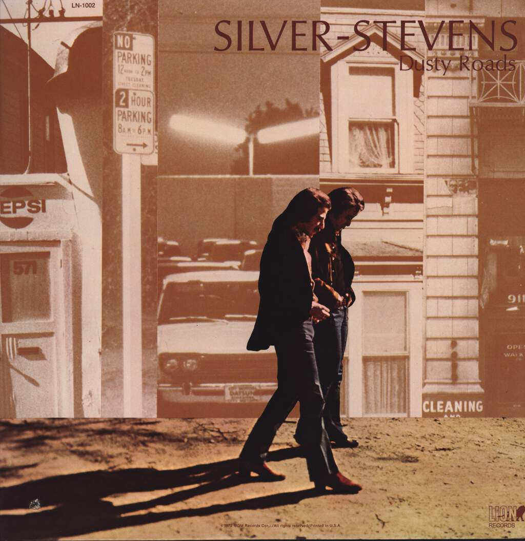 Silver-Stevens: Dusty Roads, LP (Vinyl)