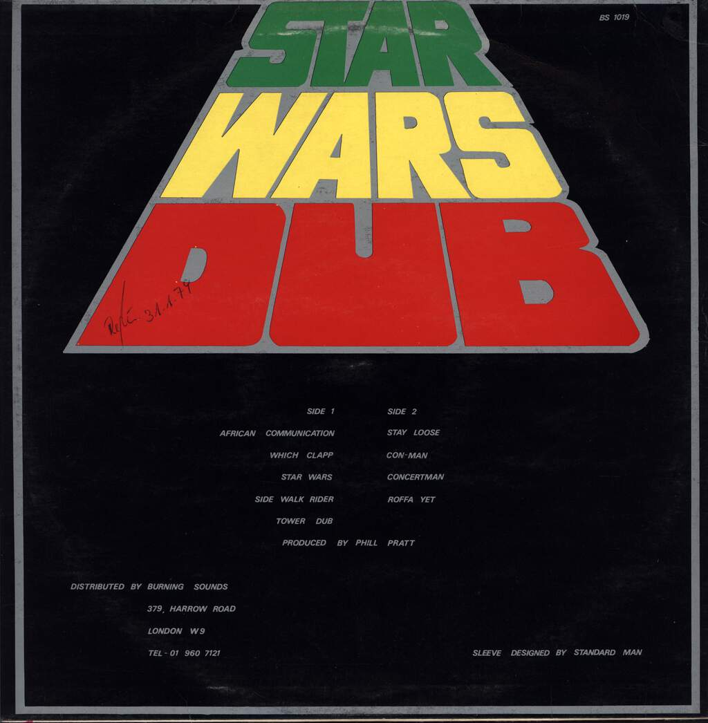 Phil Pratt: Star Wars Dub, LP (Vinyl)