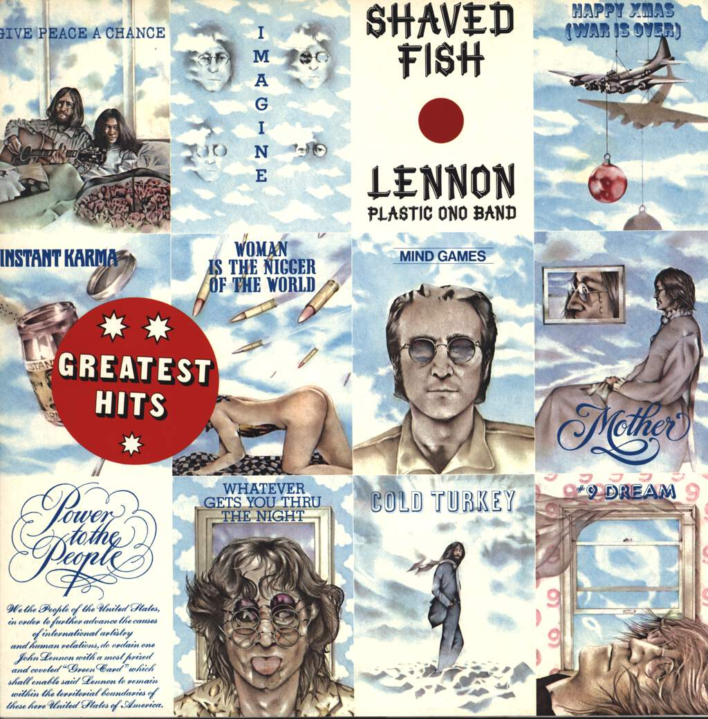 John Lennon: Shaved Fish, LP (Vinyl)