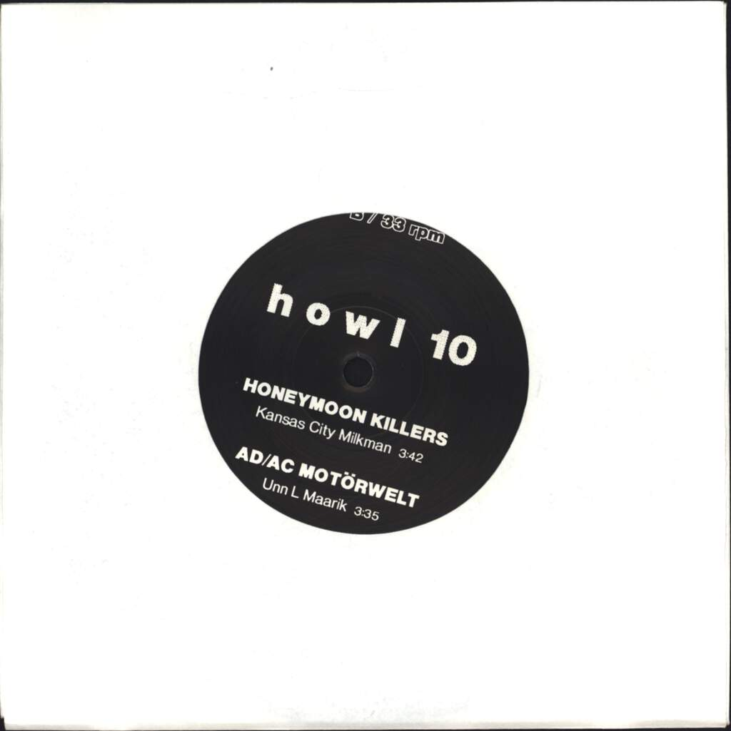 "Various: Howl 10, 7"" Single (Vinyl)"