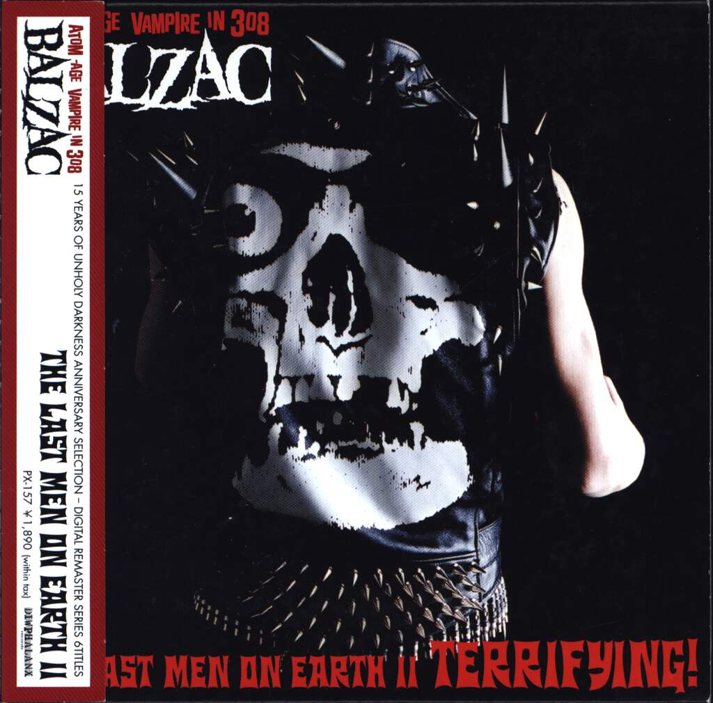 Balzac: The Last Men On Earth II, CD