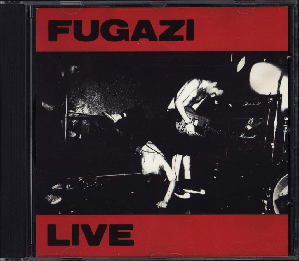 Fugazi: Live In Heaven 1990, CD