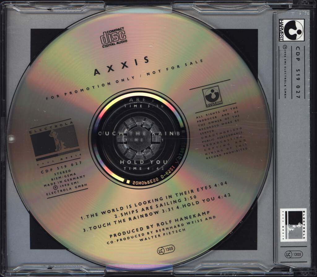 Axxis: II, Mini CD