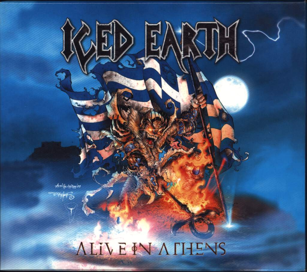 Iced Earth: Alive In Athens, CD