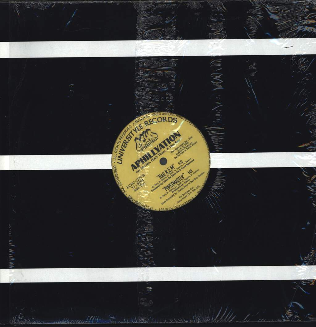 "Aphillyation: United Snakes Of America / Had R.E.M. / Pupetmaster, 12"" Maxi Single (Vinyl)"