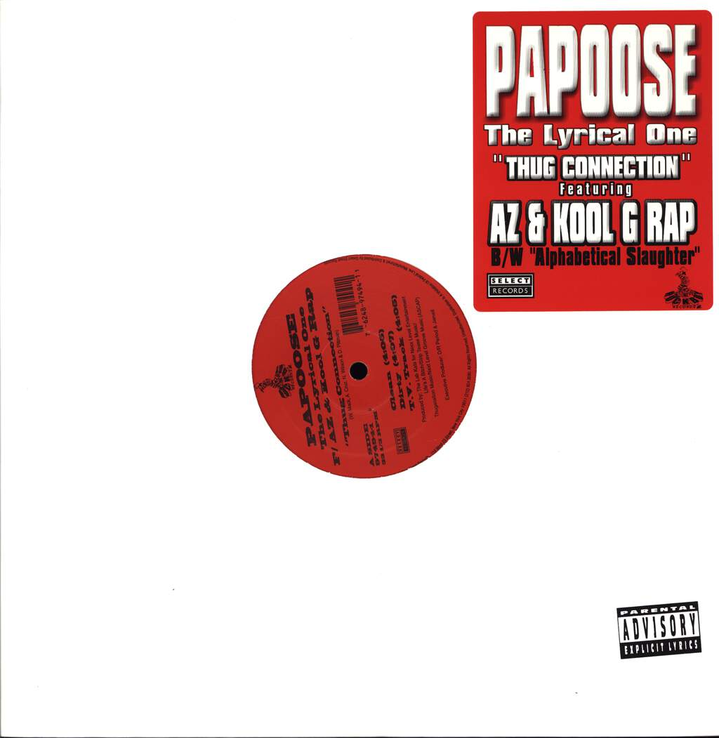 "Papoose: Thug Connection / Alphabetical Slaughter, 12"" Maxi Single (Vinyl)"