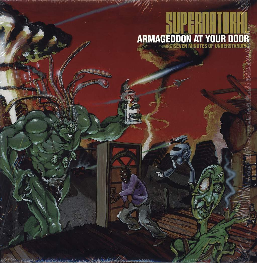 "Supernatural: Armageddon At Your Door, 12"" Maxi Single (Vinyl)"