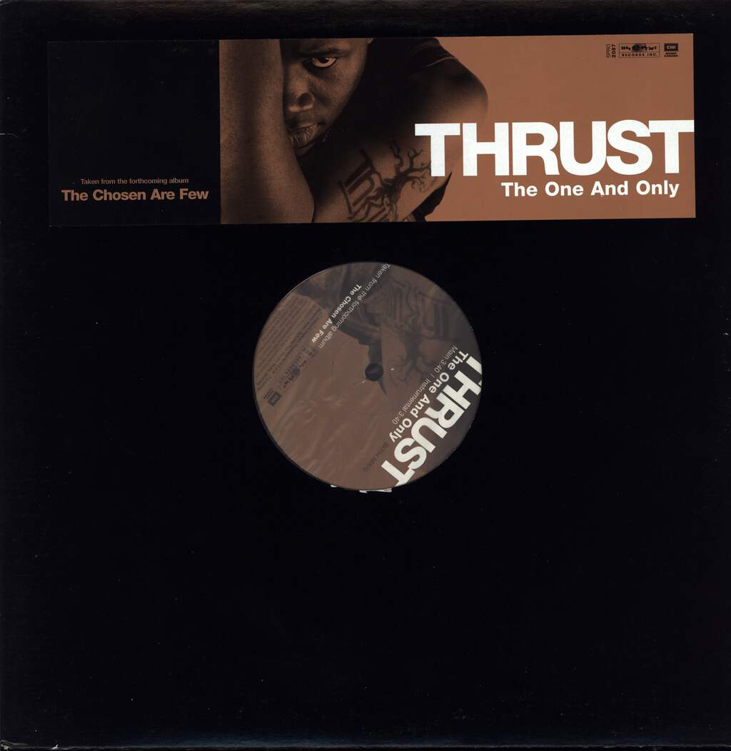 "Thrust: The One And Only, 12"" Maxi Single (Vinyl)"