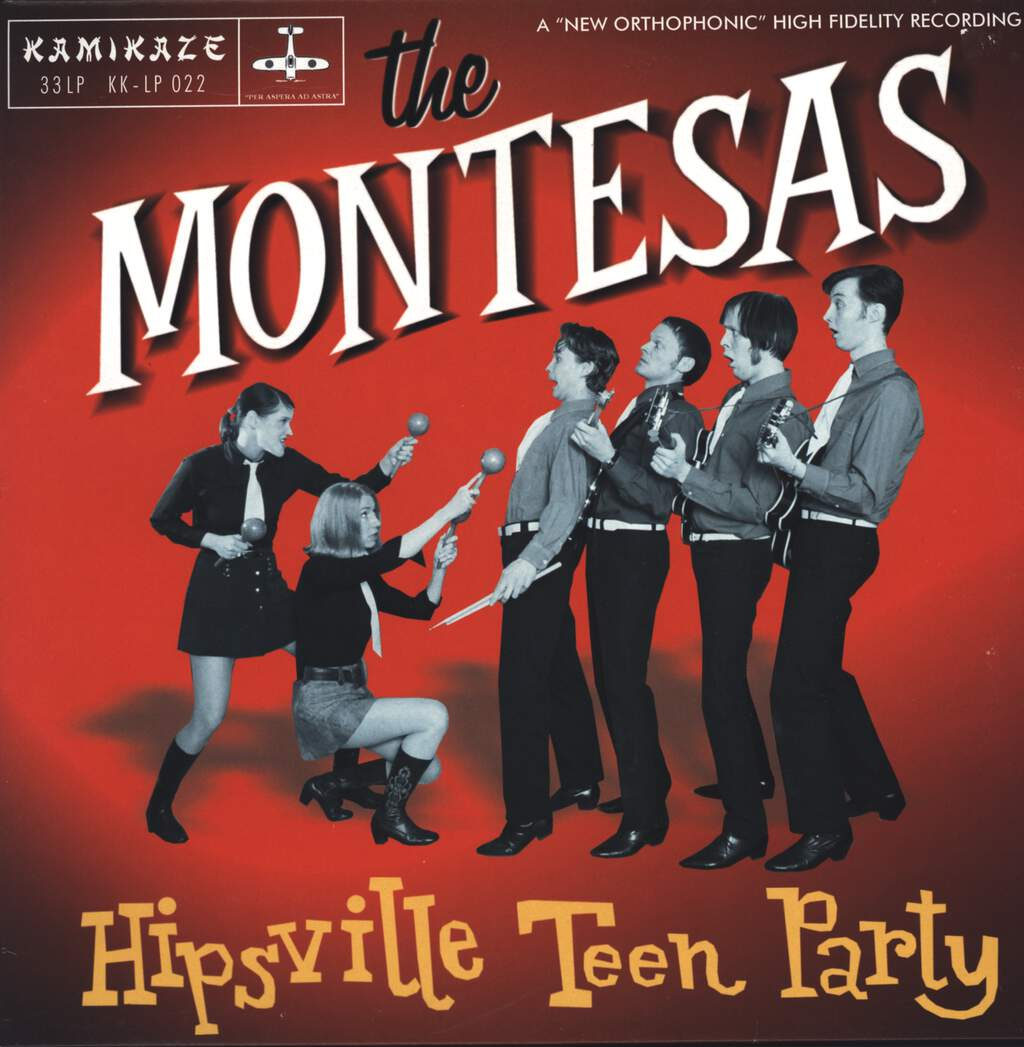 The Montesas: Hipsville Teen Party, LP (Vinyl)