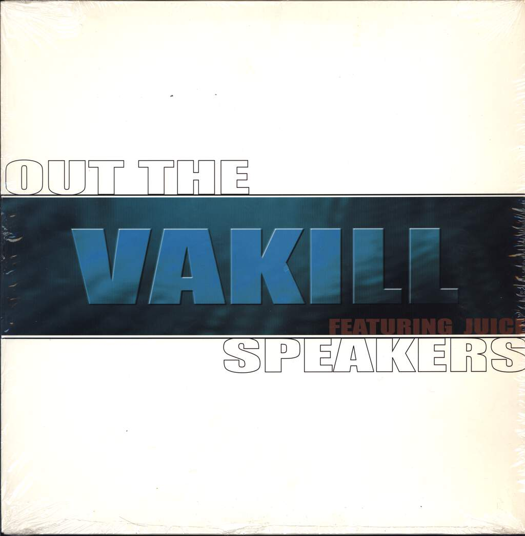 "Vakill: Out The Speakers, 12"" Maxi Single (Vinyl)"