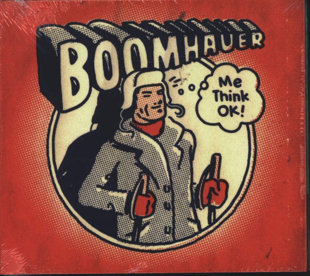 Boomhauer: Me Think OK!, CD
