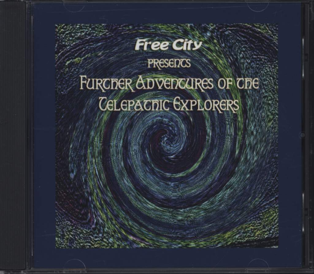 Various: Further Adventures Of The Telepathic Explorers, CD