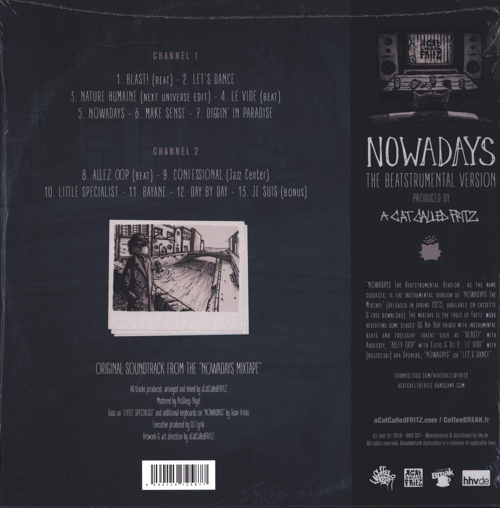 A Cat Called Fritz: Nowadays: The Beatstrumental Version, LP (Vinyl)