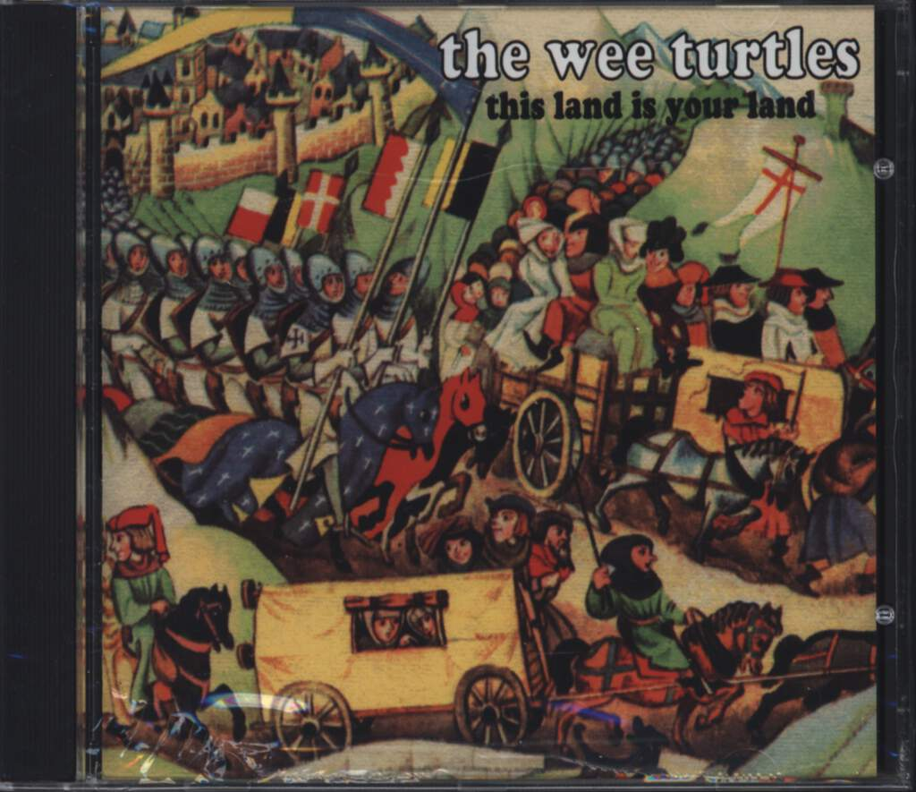 The Wee Turtles: This Land Is Your Land, CD