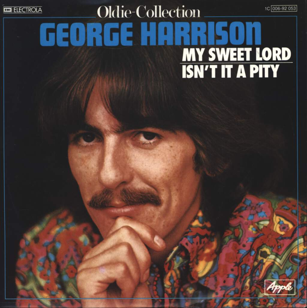 "George Harrison: My Sweet Lord / Isn't It A Pity, 7"" Single (Vinyl)"