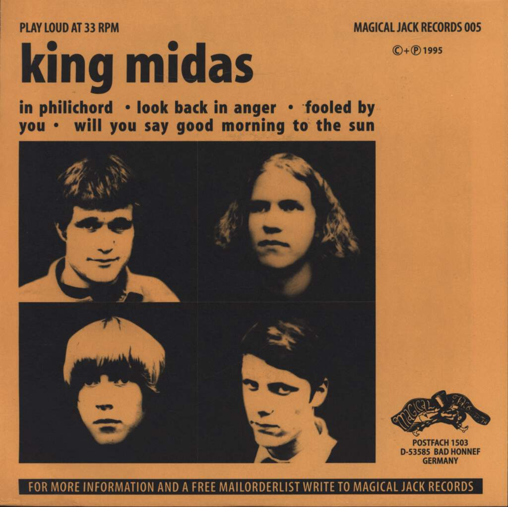 "King Midas: In Philichord, 7"" Single (Vinyl)"