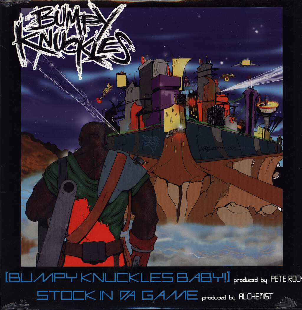 "Bumpy Knuckles: Bumpy Knuckles Baby / Stock In Da Game, 12"" Maxi Single (Vinyl)"