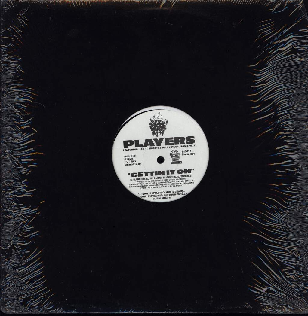 "Players: Gettin' It On, 12"" Maxi Single (Vinyl)"