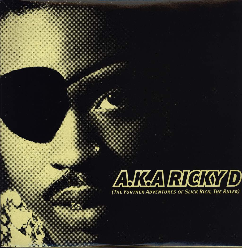 Slick Rick: A.K.A. Ricky D (The Further Adventures Of Slick Rick, The Ruler), LP (Vinyl)