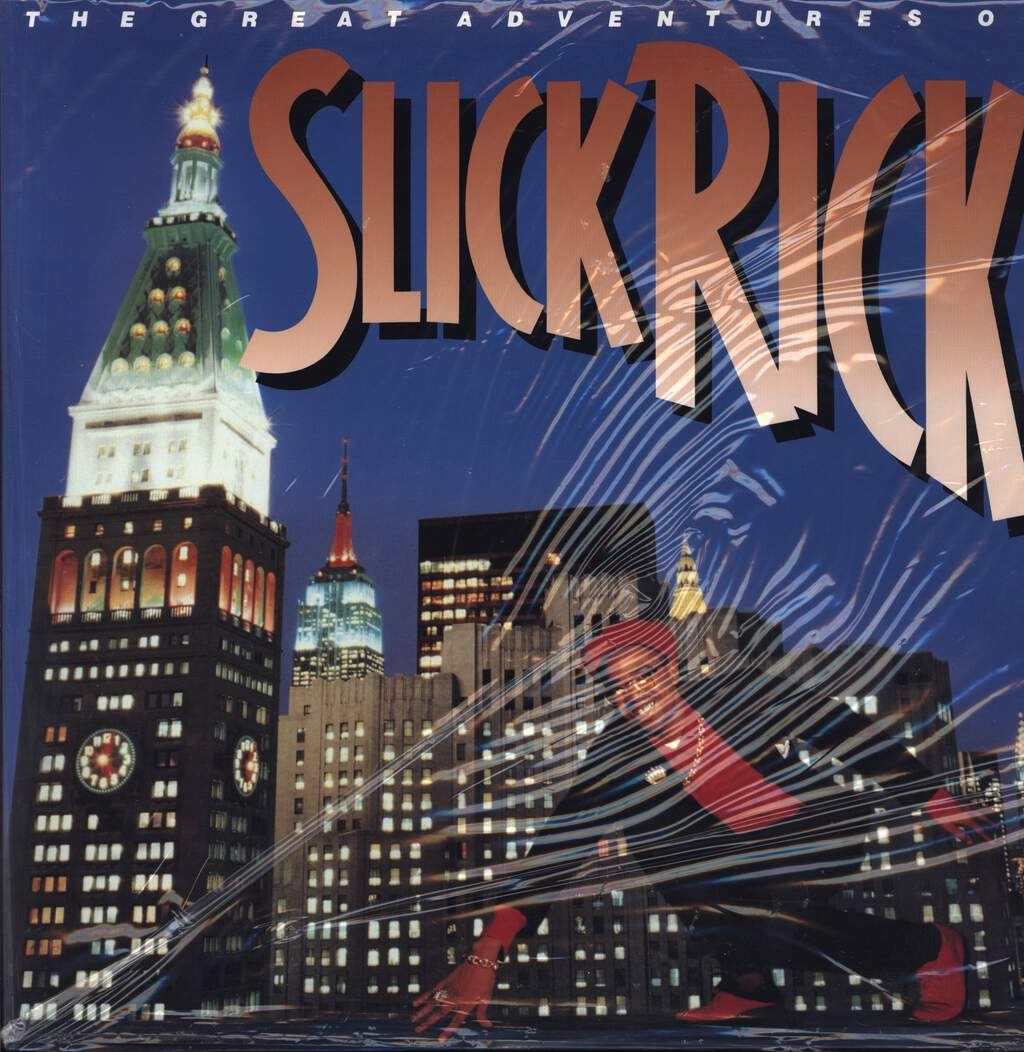 Slick Rick: The Great Adventures Of Slick Rick, LP (Vinyl)