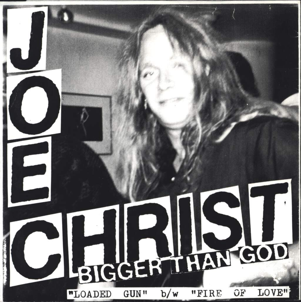 "Joe Christ: Bigger Than God, 7"" Single (Vinyl)"