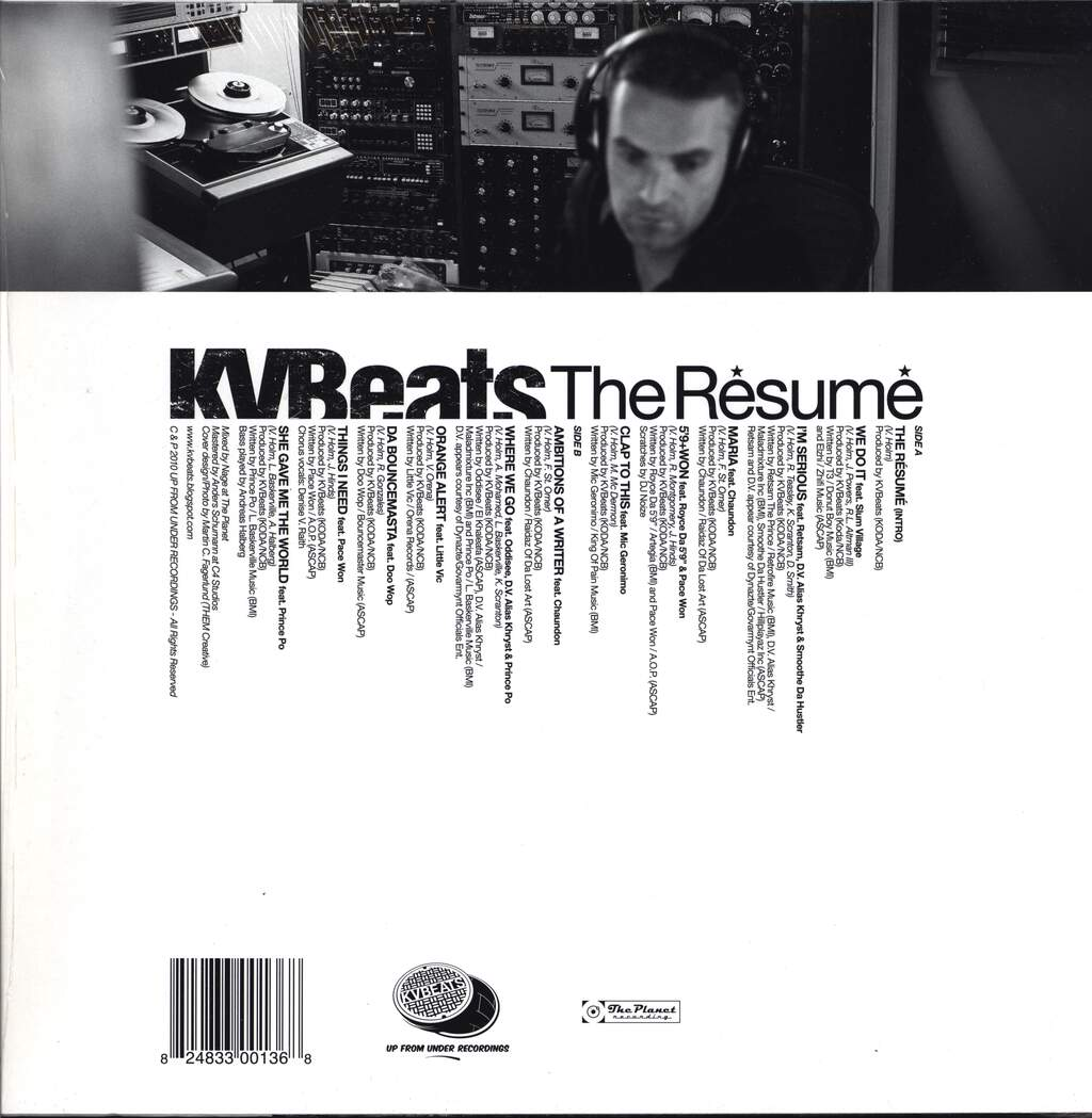 KVBeats: The Résumé, LP (Vinyl)