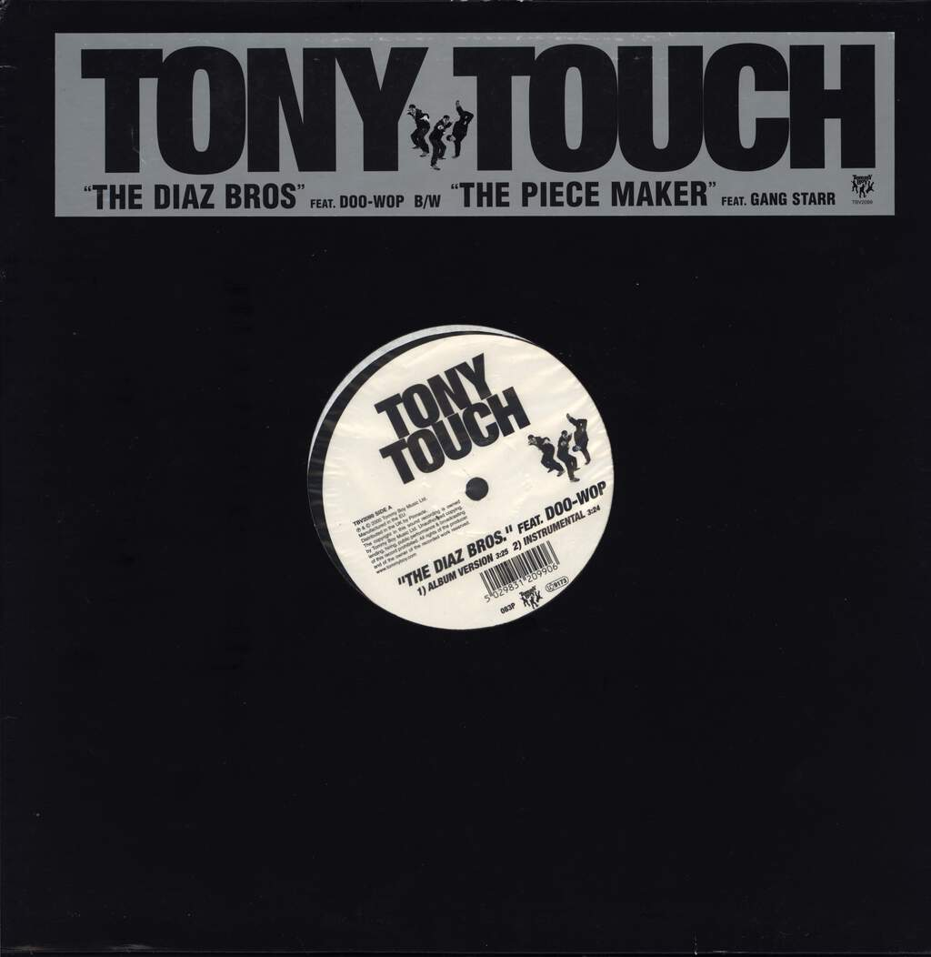 "Tony Touch: The Diaz Bros. / The Piece Maker, 12"" Maxi Single (Vinyl)"