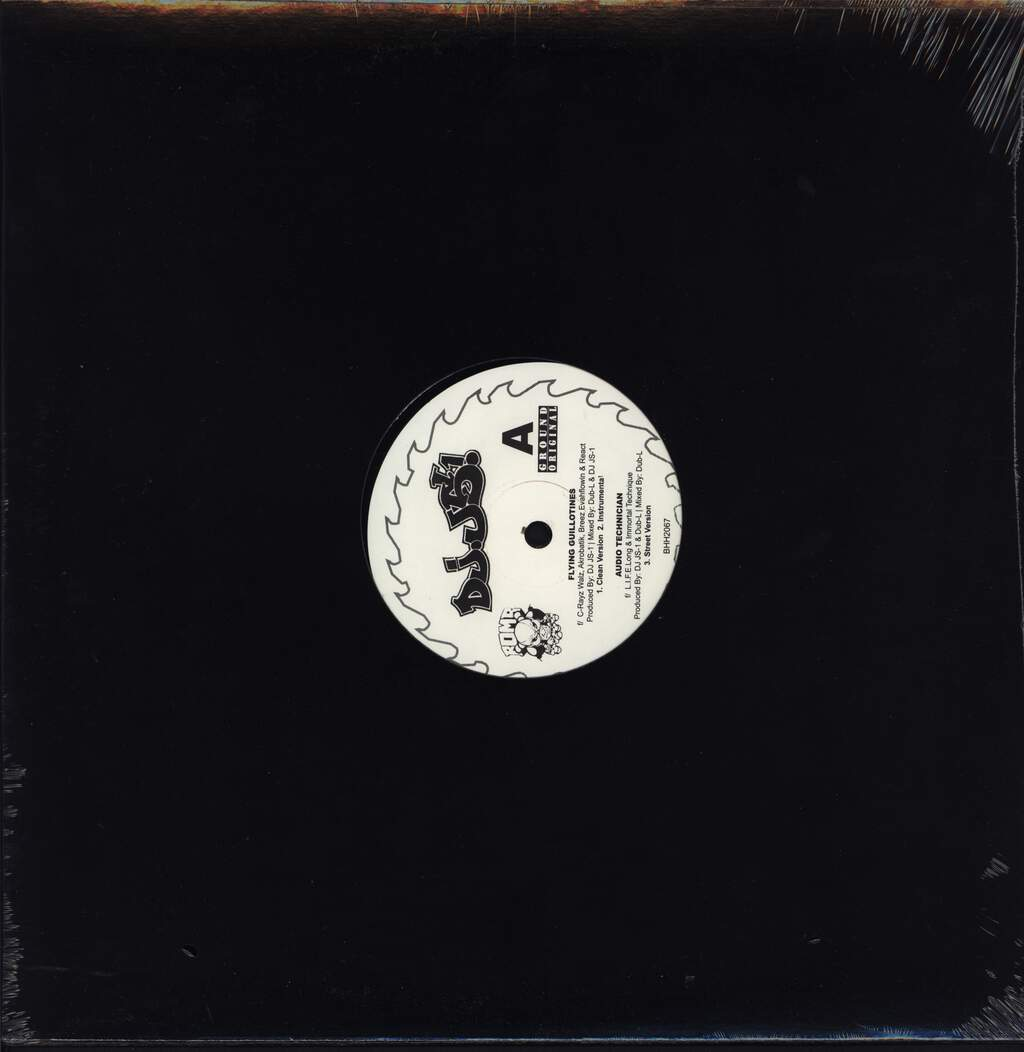 "DJ JS-1: Flying Guillotines, 12"" Maxi Single (Vinyl)"