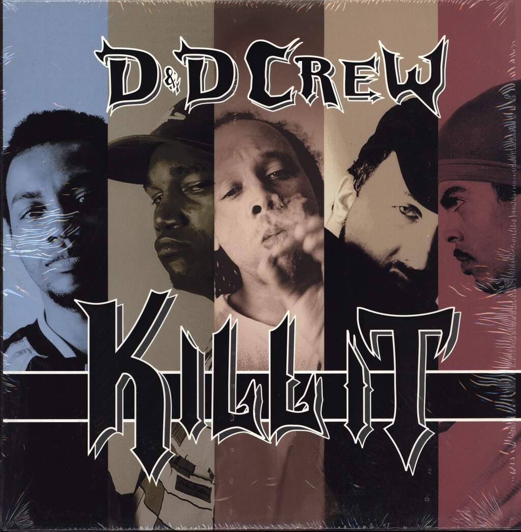 "D & D Crew: Kill It, 12"" Maxi Single (Vinyl)"