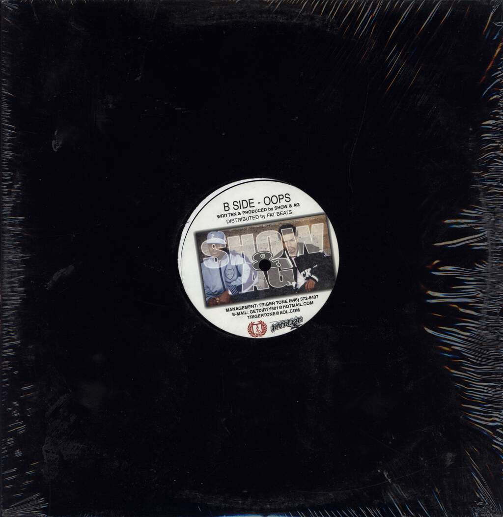"Showbiz & AG: Hot Spot / Oops, 12"" Maxi Single (Vinyl)"