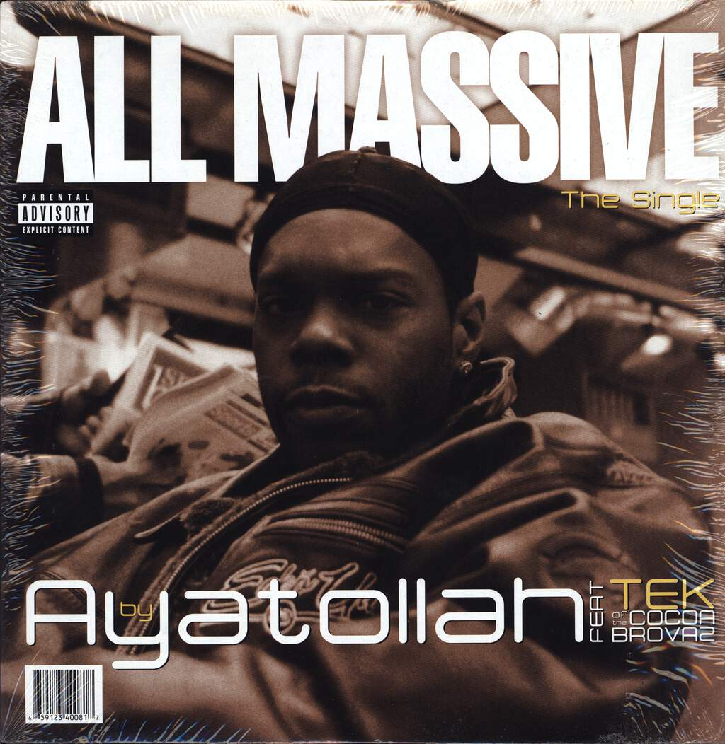 "Ayatollah: All Massive, 12"" Maxi Single (Vinyl)"
