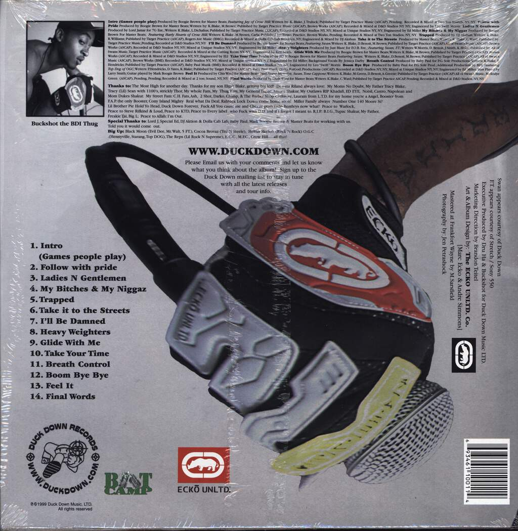 Buckshot: The BDI Thug, LP (Vinyl)