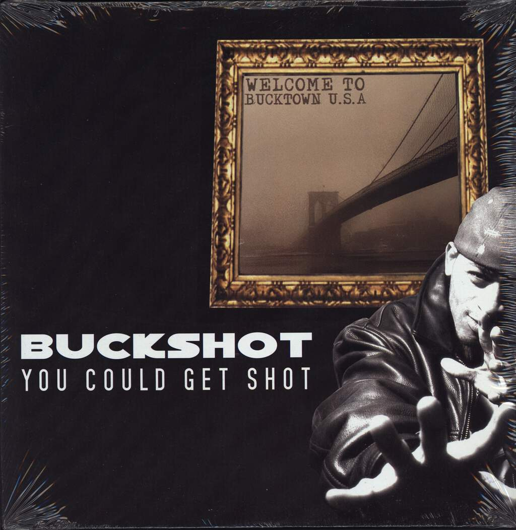 "Buckshot: You Could Get Shot, 12"" Maxi Single (Vinyl)"