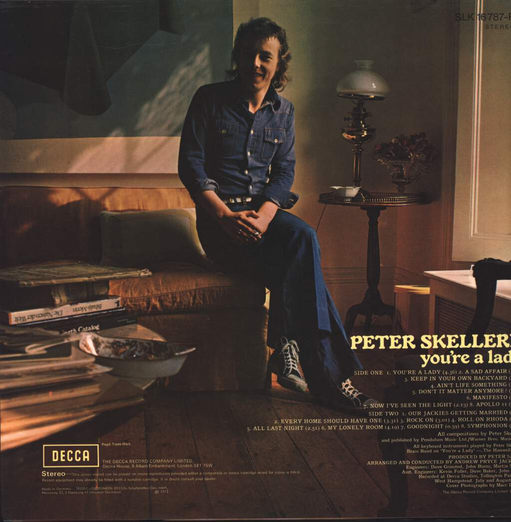 Peter Skellern: You're A Lady, LP (Vinyl)