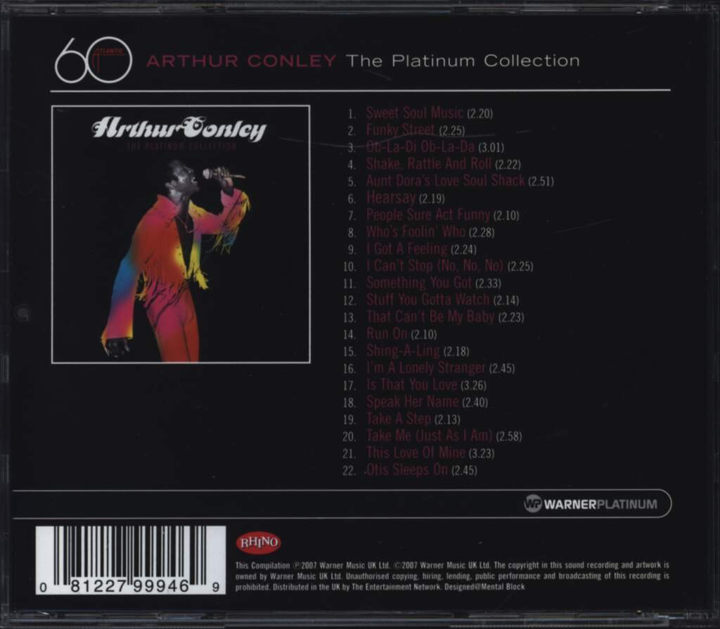 Arthur Conley: The Platinum Collection, CD