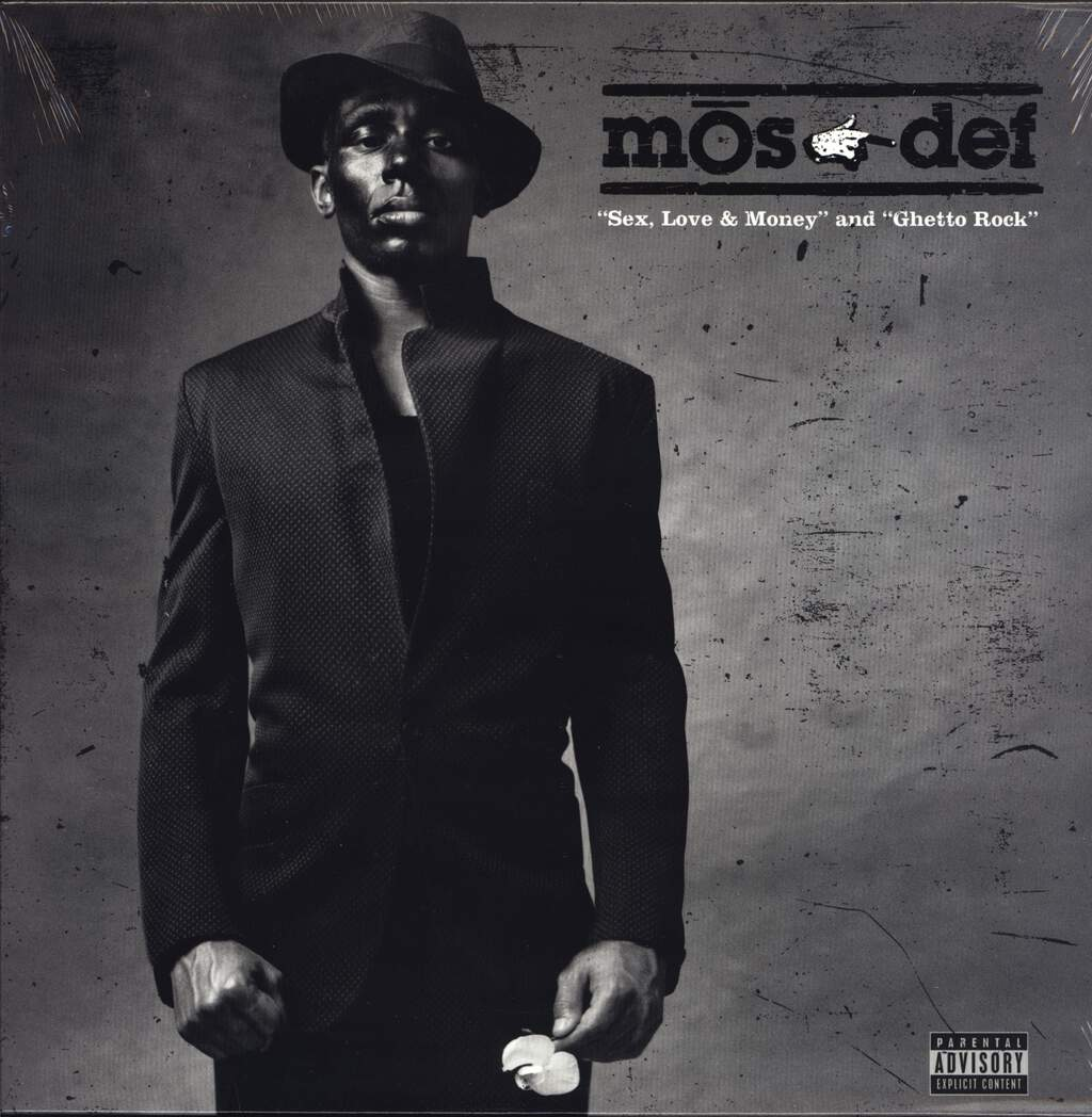 "Mos Def: Sex, Love & Money / Ghetto Rock, 12"" Maxi Single (Vinyl)"
