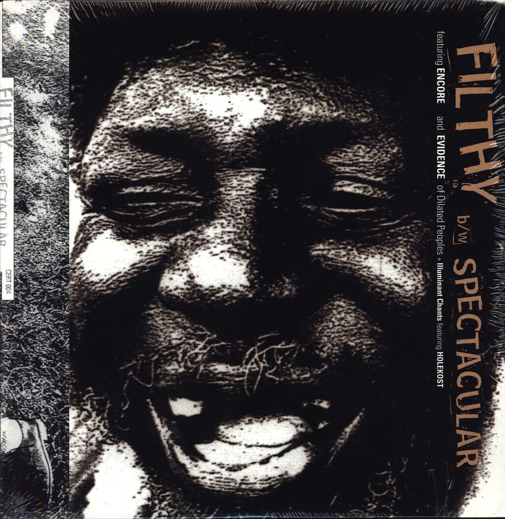 "Encore: Filthy B/W Spectacular + Illuminant Chants, 12"" Maxi Single (Vinyl)"