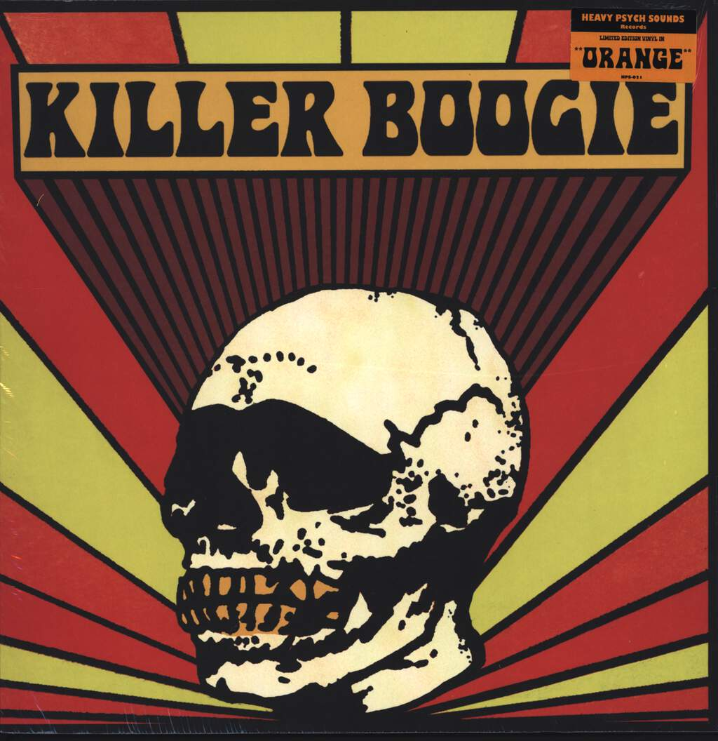 Killer Boogie: Detroit, LP (Vinyl)