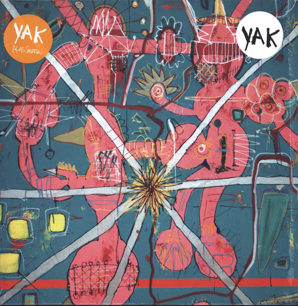 Yak: Alas Salvation, LP (Vinyl)